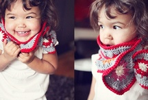 Crochet - Baby And  Kids Scarfs !