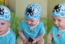Crochet - Baby And Kids Hats - NOVELTY - 2 !