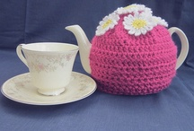 Crochet - Teapot Cosies, Mug Cosies, And Coasters !