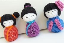 Crochet - Japanese Dolls !