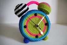 Crochet - Clocks !
