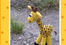 Crochet - Giraffes !