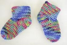 Crochet - Baby And Kid's Socks !