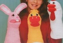 Crochet - Hand Puppets !