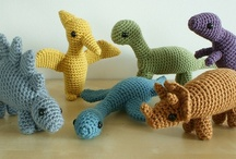 Crochet - Dinosaurs And Dragons !