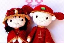 Crochet - Chinese Dolls !