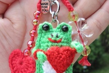 Crochet - Frogs !