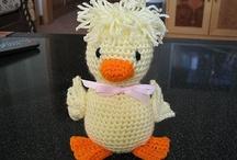 Crochet - Ducks !