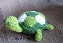 Crochet - Turtles !