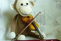 Crochet - Monkeys !