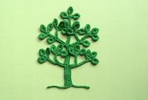 Crochet - Trees !