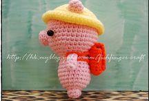 Crochet - Pigs !