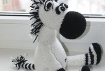 Crochet- Zebras !