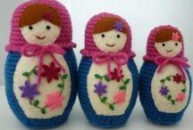 Crochet - Matryoshkas !
