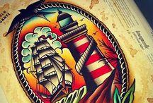 Tattoo board / Old School tattos