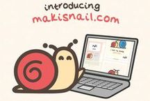 Maki / Hi! I'm a very little snail in a very tiny world!  Follow my kawaii adventures!