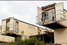 Shipping container homes / Not just for moving cargo: shipping containers can also make innovative homes.