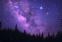 The amazing night sky !!! How romantic ....