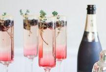 Party Drinks Inspiration / Köstliche Drinks für die nächste Party, mit und ohne Alkohol. Gin, Wodka, etc.