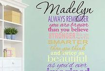 Girls Personalized Quotes