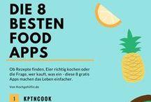 Infografiken rund ums Essen / Hier findet ihr erklärende Infografiken zum Thema Essen und Trinken.