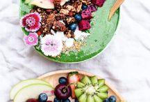 sᴍᴏᴏᴛʜɪᴇ ʙᴏᴡʟ / Acai bowl smoothie fruit summer food good