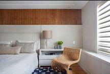 Quartos | Bedroom / Um dos espaços preferidos por nós, dormir bem é fundamental.