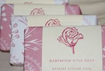 The Dartmoor Soap Company / The Dartmoor Soap Company follows an ancient artisan recipe to make beautiful, natural soaps using the traditional cold-process method. Each soap is hand stirred, hand cut and individually decorated.   5p from every wrapped bar sold will be donated to Butterfly Conservation, a registered UK charity which is working to protect butterflies, moths and our environment.    www.thedartmoorsoapco.co.uk