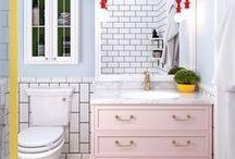 Banheiros | Bathroom / Banheiros para todos os gostos e estilos.