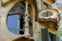 Gaudi / Spaanse Architect Kunstenaar / by Jan van der Hoorn