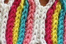 crochet idee sciarpe