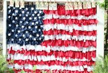 Holiday - Patriotic Crafts and Decor / Patriotic - Memorial Day & 4th of July Crafts and decor ideas