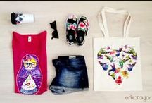 Colorful Summer style / Fashion inspirations for Summer in bright colors