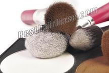 Makeup Brushes / Different kinds of makeup brushes, 10 pcs to 32 pcs per set available, pink brush, red brush, yellow brush, white brush, black brush and more hair brush available. More Makeup Brushes & hair extension tools on http://www.omgnb.com