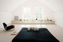 Simple Interiors / Clean spaces perfect for a minimal, simple and organized lifestyle.