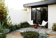 Enchanting Exteriors / Beautiful architecture and outdoor spaces that inspire simplicity, organization and minimalism.