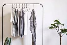 Simplify the Wardrobe / Clothes can get complicated! These are tips, inspiration and advice on sliming down the closest to only what we need, enjoy and actually wear.