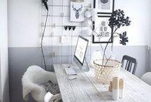 Mood board / Inspirações e ideias para fazer um mood board diferente para o escritório