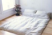 Small Space Hacks / Tips and tricks for making small space living practical and functional.