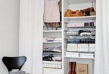 Closet / Inspirações de closets grandes ou pequenos, de estilos variados, para desejar.