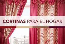 CORTINAS PARA EL HOGAR / Ideas para la decoración de las ventanas de la cocina y sala comedor, manteles, cortinas, etc modelos únicos de Primor.