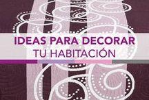 Ideas para decorar habitaciones. / Increíbles ideas para la decoración de la recamara con diseños únicos y calidad Primor. Aquí encontrarás combinaciones de colores que te serán muy útiles para remodelar tu habitación.
