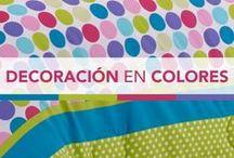 Decoración con colores / Aquí encontrarás la inspiración para decorar tu habitación con muchos colores. Este tablero está pensado para los amantes de los colores.