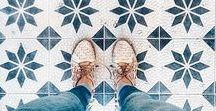 Tile Dreams / A selection of beautiful tiles - Dreams are made of these.
