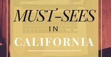 Must-Sees in California / This board is full of beautiful places in amazing California that everyone should see while visiting.