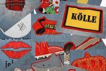 Karneval / Deine ganz persönliche Köln-Jeans, aufwändig bestickt mit Motiven nach Wahl.  Kölntaschen - perfekt (nicht nur) im Karneval. Gestickte Applikationen zum selbst aufnähen.