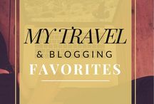 My Travel & Blogging Favorites / This board is about the best of the best products, resources, websites, courses, planners, etc. when it comes to traveling, blogging, or living life in general. These are my favorites ever and I would recommend them over and over again. I only recommend things that I have tried myself and truly love.