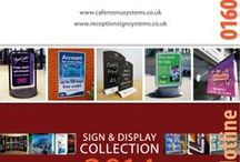 Signage | Point of Sale / Over 3,500 products online. View our online catalogue...