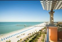 Hyatt Clearwater Beach / Poised at the edge of one of the world's best beaches, our Clearwater hotel is an oasis along this Florida coastline. Enjoy suite style guestrooms featuring full kitchens, dine in three innovative restaurants, or set out to explore the beautiful coast a mere few steps away. For the ultimate day of relaxation, treat yourself to a package at Sandava Spa, or book a secluded massage in your private poolside cabana.