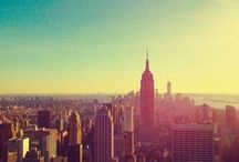 New York City / New York City is a center for media, culture, food, fashion, art, research, finance, and trade. It has one of the largest and most famous skylines on earth, dominated by the iconic Empire State Building. It's known as the city that doesn't sleep!
